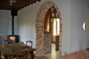 Isolation et rénovation d'une maison d'habitation