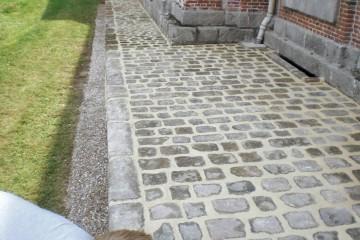 Rénovation d'un trottoir